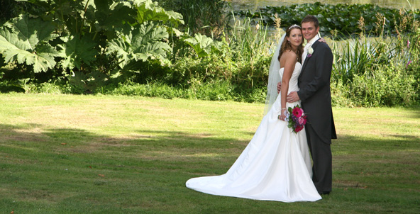 Essex Wedding Photographer lawn picture
