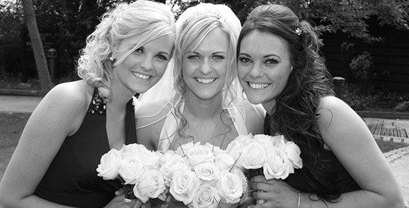 Essex Bride and Bridesmaids